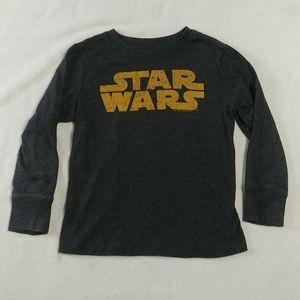 Old Navy Star Wars long sleeve Gray 4T t-shirt